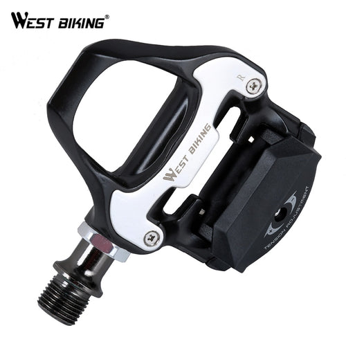 WEST BIKING Road Bike Pedal Self-locking Pedals Beginner Aluminum