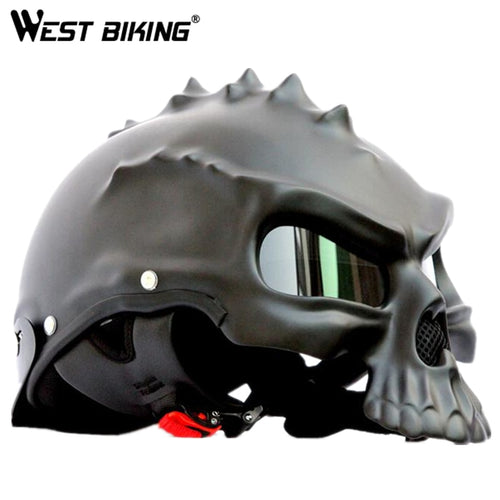 WEST BIKING Skull Helmet Motorcycle Helmet Bike