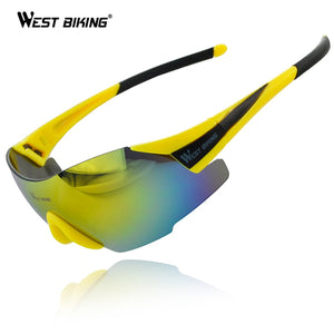 WEST BIKING Sports Bicycle Glasses Bicicleta Mountain Bike Cycling Eyewear