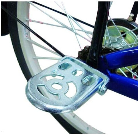WEST BIKING Steel Rear Foot Collapsible Pedal Thicker Type Folding