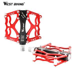 WEST BIKING Ultralight Cycling Pedals Aluminum Bike Profession MTB
