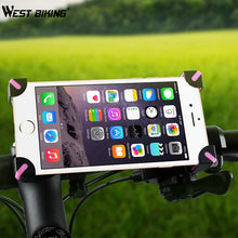 Load image into Gallery viewer, WEST BIKING Universal Bicycle Phone Holder