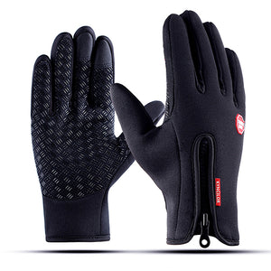 WEST BIKING Winter Warm Cycling Gloves Touch Screen
