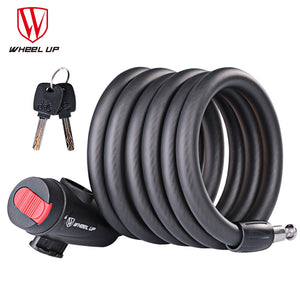 WHEEL UP 1.8m Anti Theft Bike Lock Bicycle