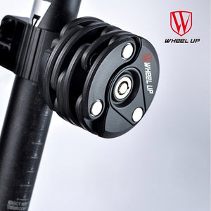 WHEEL UP New Type Bike Anti Theft Chain Lock Foldable Mini Cycling