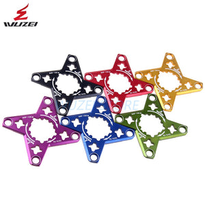 WUZEI Bike Crank GXP to BCD 104MM Spider Adapter MTB Bicycle for XX1 X0 X9