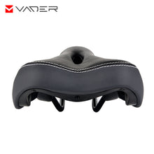 Load image into Gallery viewer, Waterproof PU Leather Sponge Padded Bike Saddle Universal