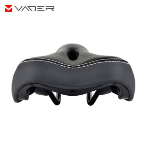 Waterproof PU Leather Sponge Padded Bike Saddle Universal
