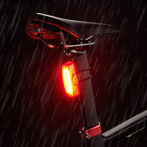 Bike Taillight USB Rechargeable Bicycle Riding Rear Light  with 650 mAH Built-in Battery