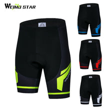 Load image into Gallery viewer, Weimostar Coolmax 4D Gel Padded Cycling Shorts Men Shockproof Downhill