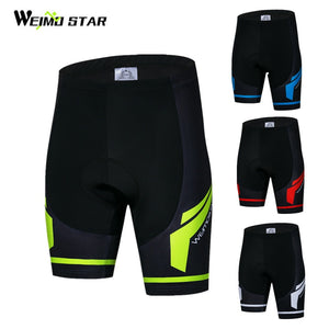 Weimostar Coolmax 4D Gel Padded Cycling Shorts Men Shockproof Downhill