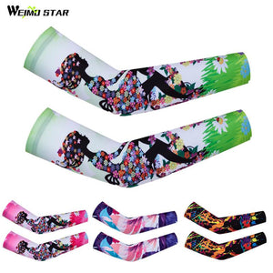 Weimostar Cycling Arm Warmers Women Sun Protection Cycling Sleeve