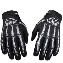 Load image into Gallery viewer, Skull Cycling Gloves Full Finger Silica Gel MTB Bike Gloves