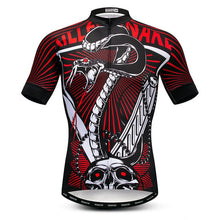Load image into Gallery viewer, Weimostar Skull Riding Cycling Jersey Men Mountain Bike Jersey
