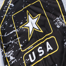 Load image into Gallery viewer, Weimostar USA Army Team Cycling Jersey Men
