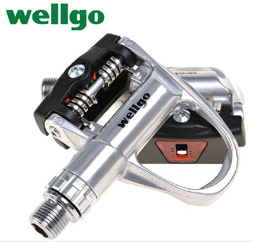 Wellgo Ultra Light Road Bike Pedals Auto Lock XRF05AC
