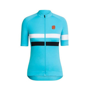 Women cycling jersey  Summer Quickdry Breathable Classic blue