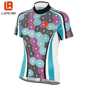 Women's Cycling Jerseys LONG AO classic bicycle jersey Team bike short sleeve