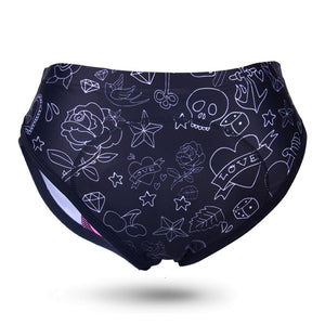 Women's Cycling Shorts Gel 3D Padded Bike Riding Bicycle Underwear