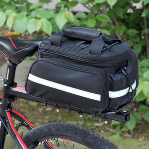 WorthWhile  Bicycle Seat Bag Rear Backpack Trunk