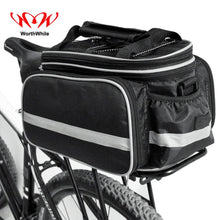 Load image into Gallery viewer, WorthWhile  Bicycle Seat Bag Rear Backpack Trunk