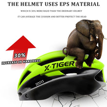 Load image into Gallery viewer, X-TIGER Pro Cycling Helmet Ultralight Windproof Lenses Mountain Bike