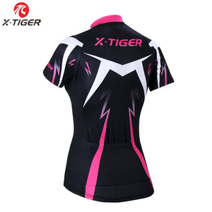 X-Tiger Pro Summer Women Cycling Clothing MTB Bike Clothing Bicycle Wear