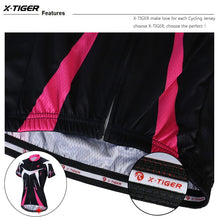 Load image into Gallery viewer, X-Tiger Pro Summer Women Cycling Clothing MTB Bike Clothing Bicycle Wear