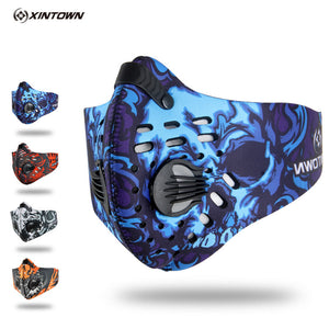 XINTOWN Air Filter Sport Face Mask Training Bicycle Cycling