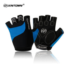 Load image into Gallery viewer, XINTOWN Cycling Anti-slip Anti-sweat Men Women Half Finger Gloves Breathable