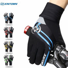 Load image into Gallery viewer, Xintown Touch Screen Cycling Gloves Winter Windproof Full Finger