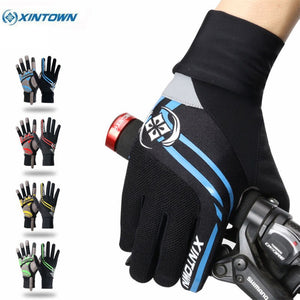Xintown Touch Screen Cycling Gloves Winter Windproof Full Finger