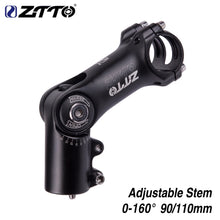 Load image into Gallery viewer, ZTTO Adjustable 160 degrees Riser 90mm 110mm*31.8 fiting Stem