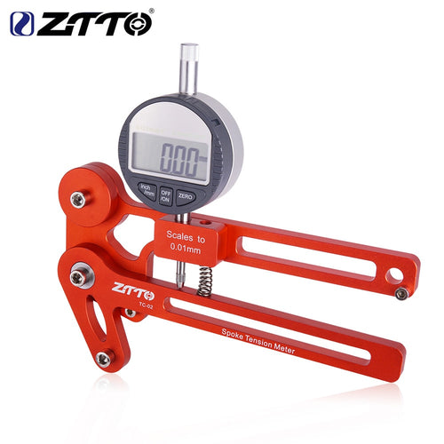 ZTTO Bicycle Tension Meter Electronic Precision Spokes Tension Checker