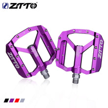 Load image into Gallery viewer, ZTTO JT01 MTB Pedal Bicycle Good Grip Flat Pedal Ultralight Alloy
