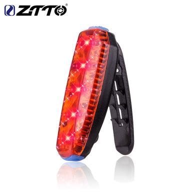 ZTTO LED Bicycle Tail Light Waterproof Outdoor Sports Li Battery Rechargeable