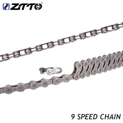 ZTTO MTB Road Bicycle 9 Speed Chain  with r Missing Link