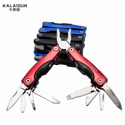 KALAIDUN Multi-functional survival stainless steel 9 in 1 knife