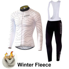 Load image into Gallery viewer, Phtxolue Winter Thermal Fleece Cycling Clothing Wear Jerseys Sets