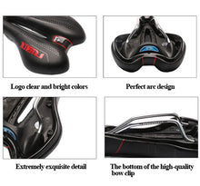 Load image into Gallery viewer, WEST BIKING Bicycle Saddle Soft Comfortable Soft Breathable