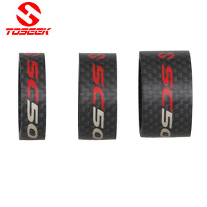 Toseek Road Bike Fork Headset Spacer Full Carbon Fiber