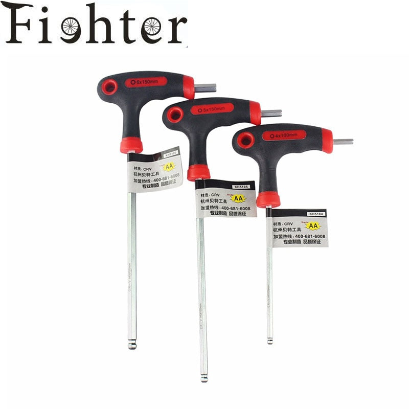 3pcs/set T/L Handle bike Allen key wrench Hex key - Bike-Moto