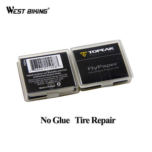 WEST BIKING No Glue Chip Bicycle Tire Repair Kit