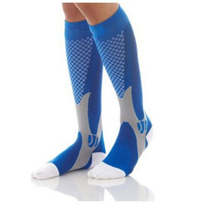 Professional Anti-Slip Nylon Cycling Socks Long