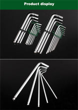 Load image into Gallery viewer, Hex Key L Allen Wrench Metric Set Durable Reinforced - Bike-Moto