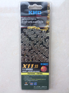 KMC X11.93 X11 Bicycle 116L 11 Speed Chain