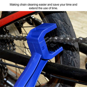 Onever Motorcycle Bike Gear And Chain Cleaner Scrubber Cleaning Tool