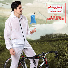 Load image into Gallery viewer, Quick Dry Cycling Raincoat Waterproof Bicycle Jacket Men Women
