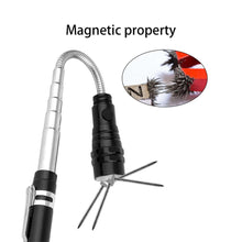 Load image into Gallery viewer, 360 Degree Flexible LED Flashlight Magnetized Head Telescopic - Bike-Moto