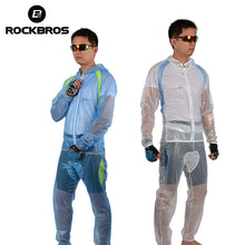 Load image into Gallery viewer, ROCKBROS Cycling Windcoat Mountain Bike Riding Raincoat